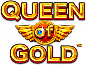Queen of Gold Online Free Slot Tournament Pragmatic Play Logo