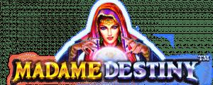 Madame Destiny Free Online Slots Games Pragmatic Play Logo