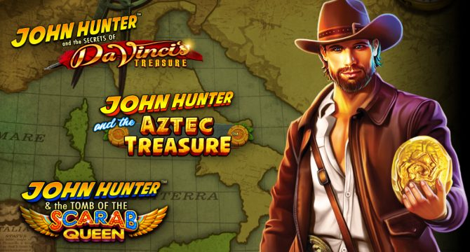 John Hunter Free Slots Collection Pragmatic Play Banner