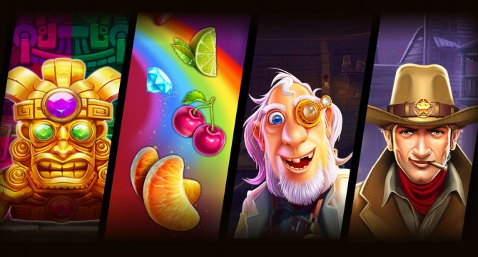 Pragmatic Play 4 New Free Slots Games Banner