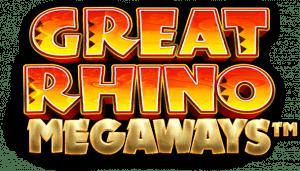 Great Rhino Megaways Online Tournaments Games Pragmatic Play Logo