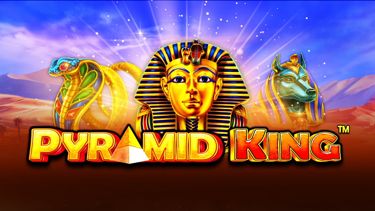 Pyramid King Free Online Slot Pragmatic Play Banner