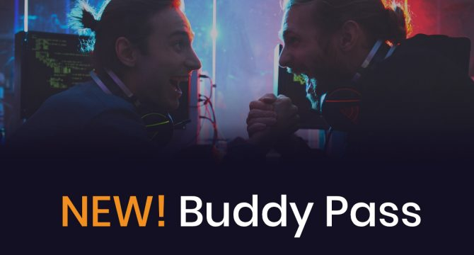 Buddy Pass-banner