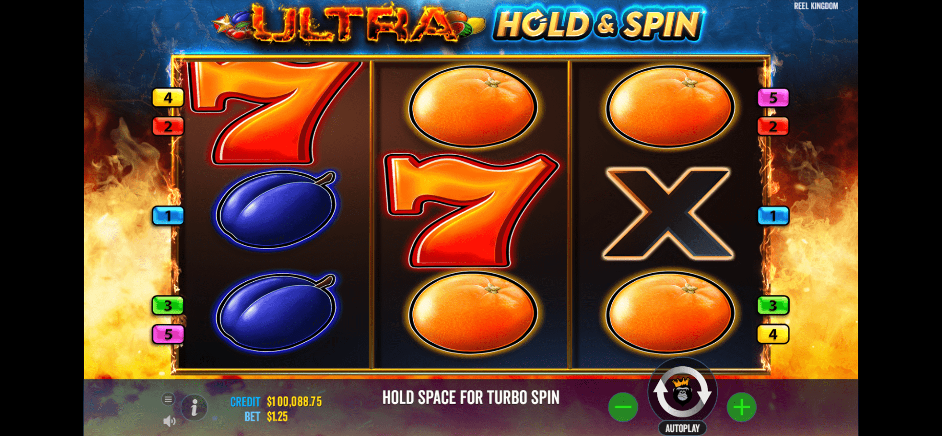 Slot online Ultra Hold & Spin