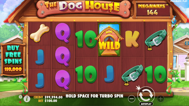 The Dog House Megaways video slot video slot