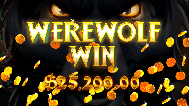 Curse of the Werewolf Megaways video slot werewolf win