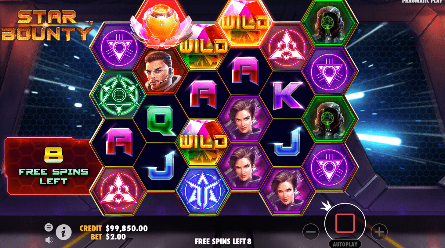 Star bounty - slot game - Missile Wild