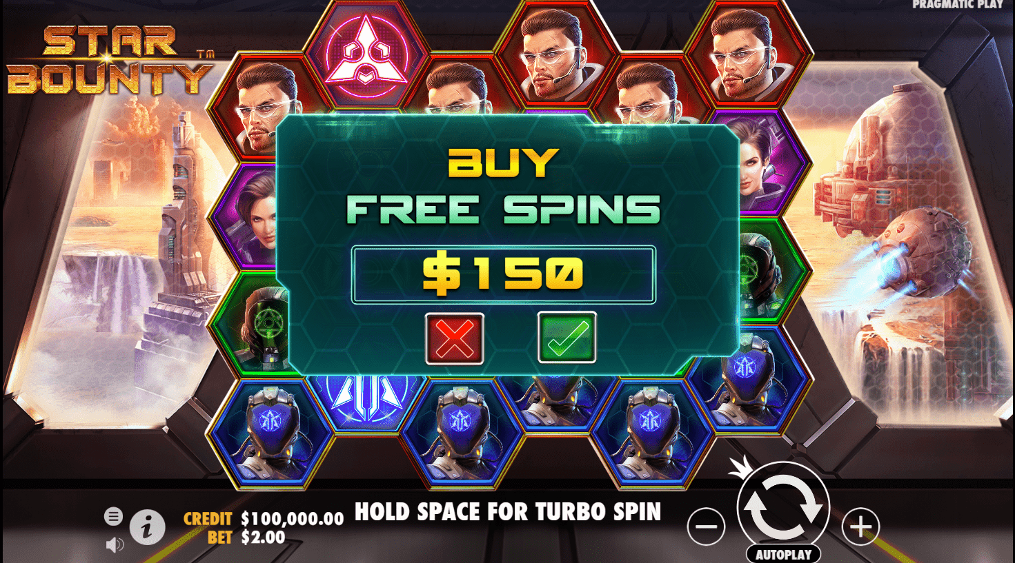 Star bounty - slot game - buy free spins