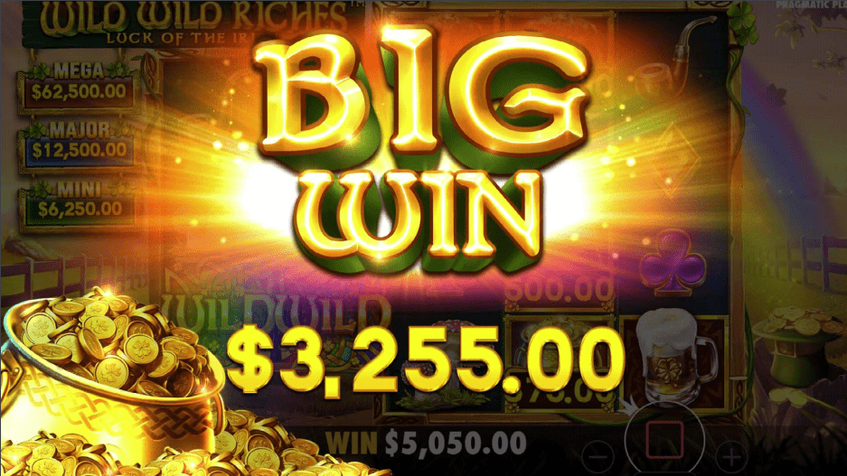 Wild Wild Riches video slot game