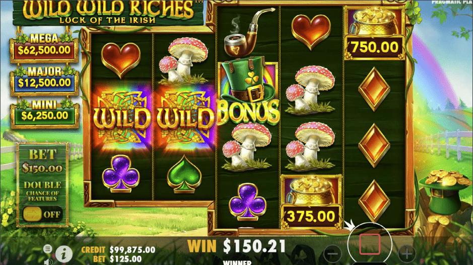 Wild Wild Riches game