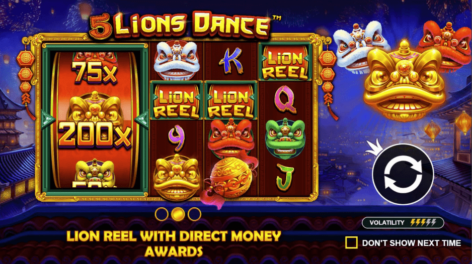 5 Lions Dance Lion Reel