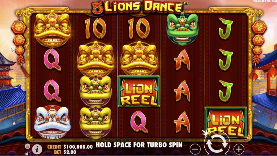 5 Lions Dance base game