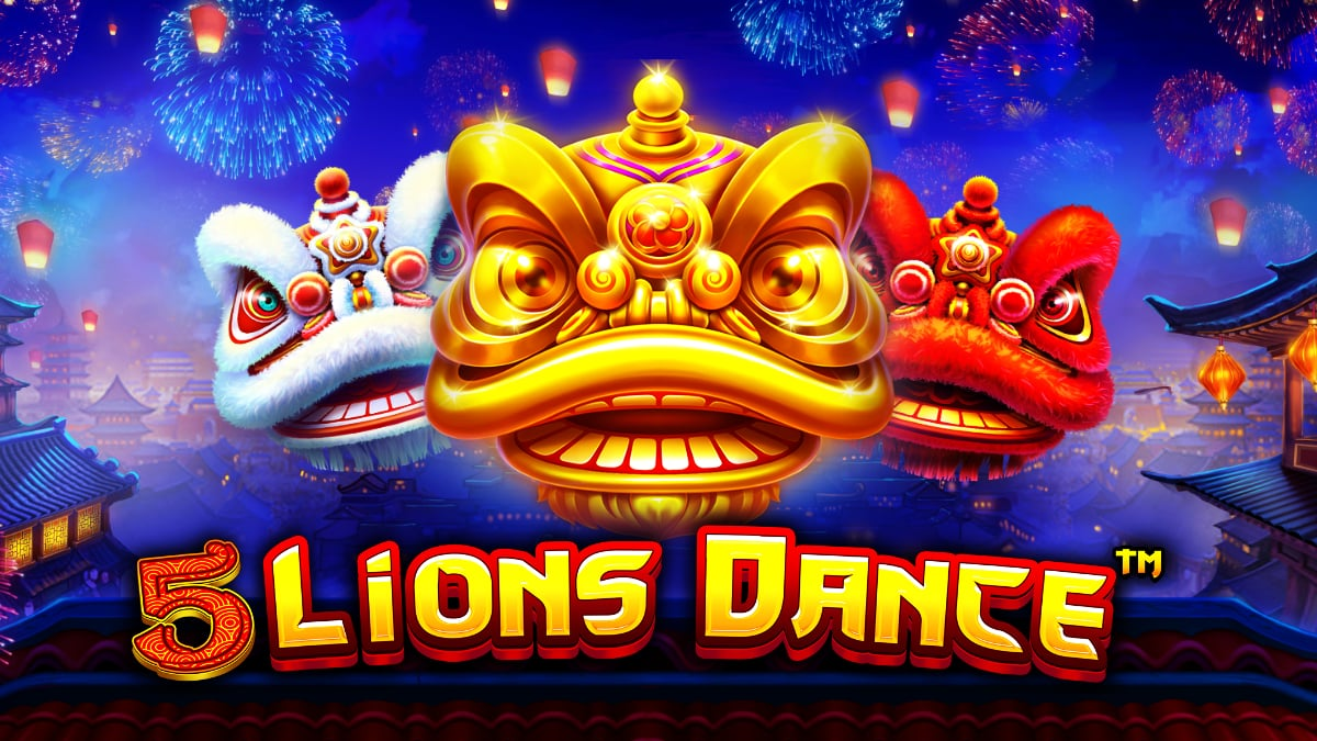 5 Lions Dance Video Slot article banner