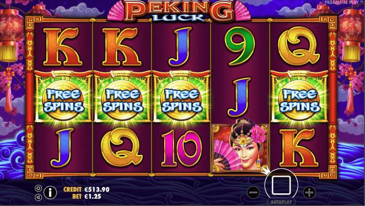 Peking Luck Video slot Free Spins Trigger