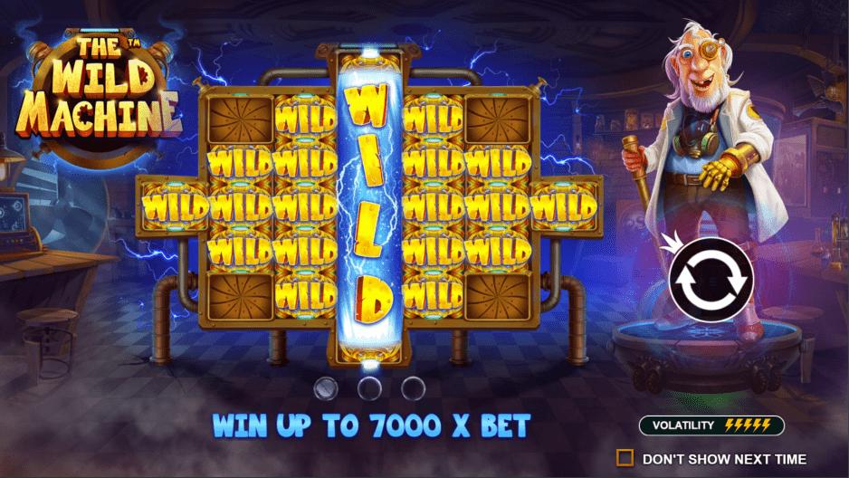 The Wild Machine Video Slot max win