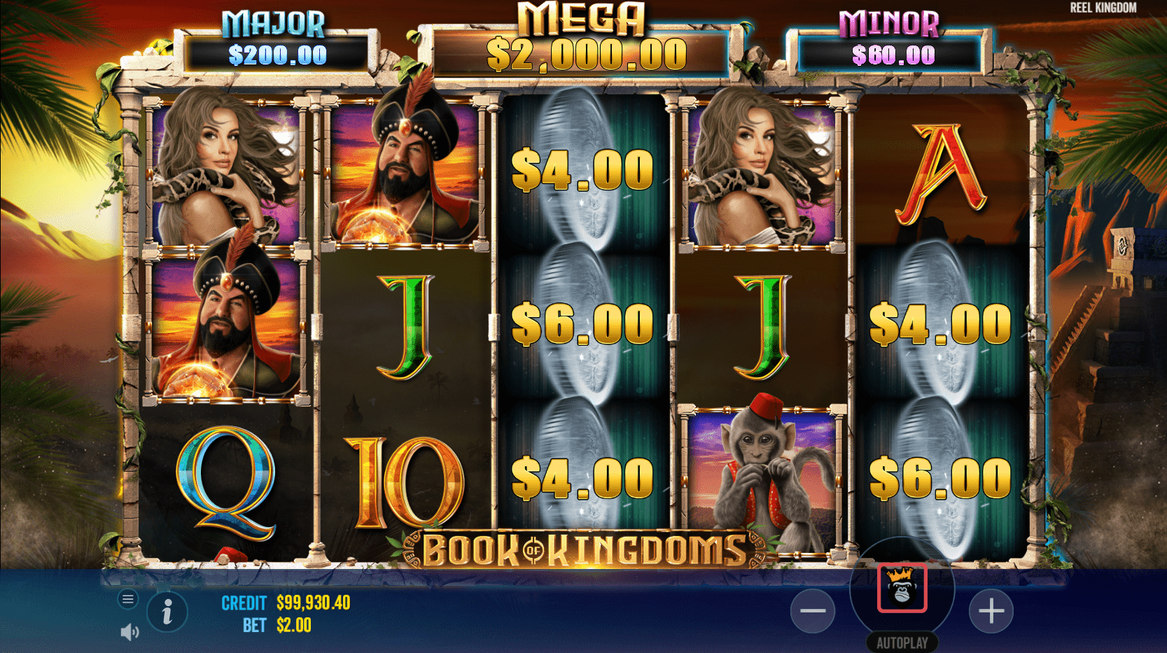 Book Of Kingdoms Video slot Money feature trigger