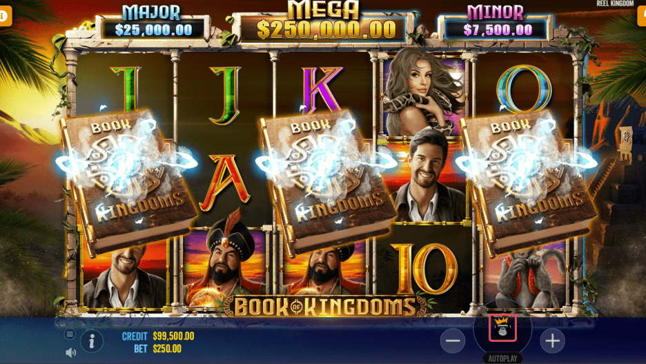 Book Of Kingdoms Video slot Free Spins trigger