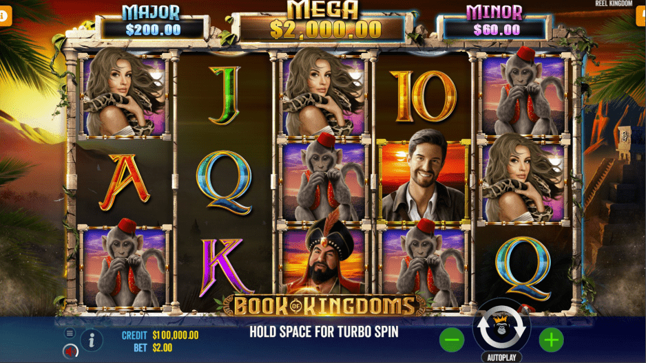 Book Of Kingdoms Video slot Base game