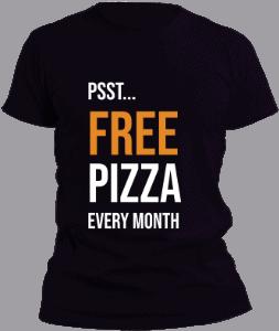 T-Shirt - Pizza