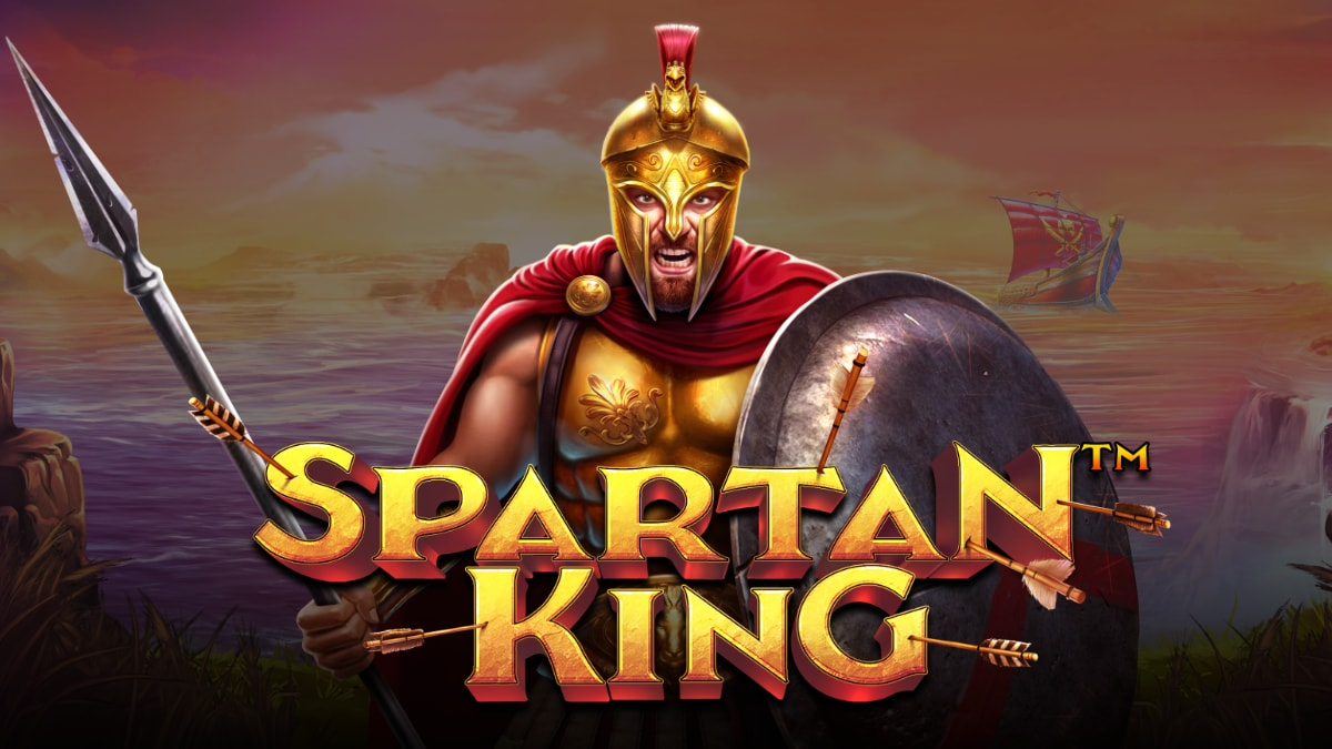 Spartan King Video Slot Banner