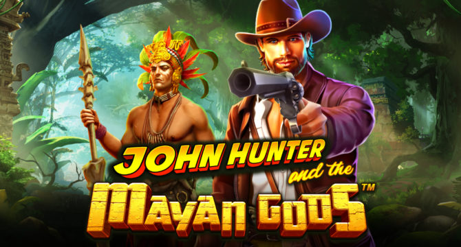John Hunter and the Mayan gods video slot article banner