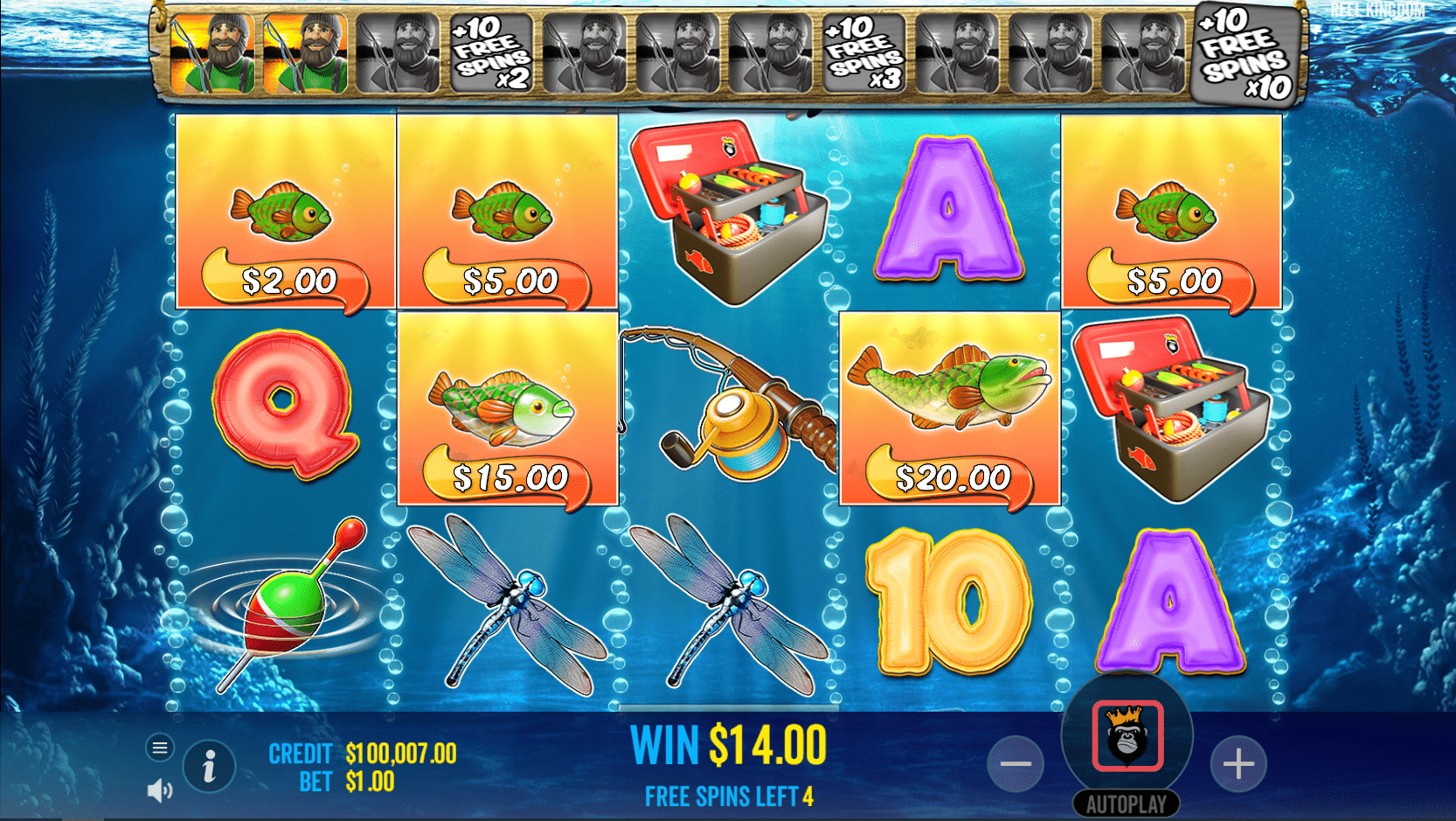 Big Bass Bonanza Video Slot Wild Free Spins