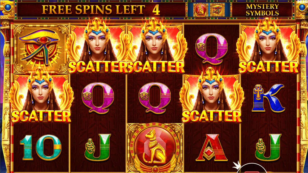 Mysterious Egypt Slot Game Five Scatters