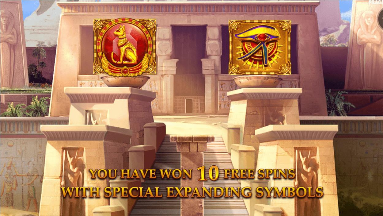Mysterious Egypt Video Slot Double Expanding Symbols
