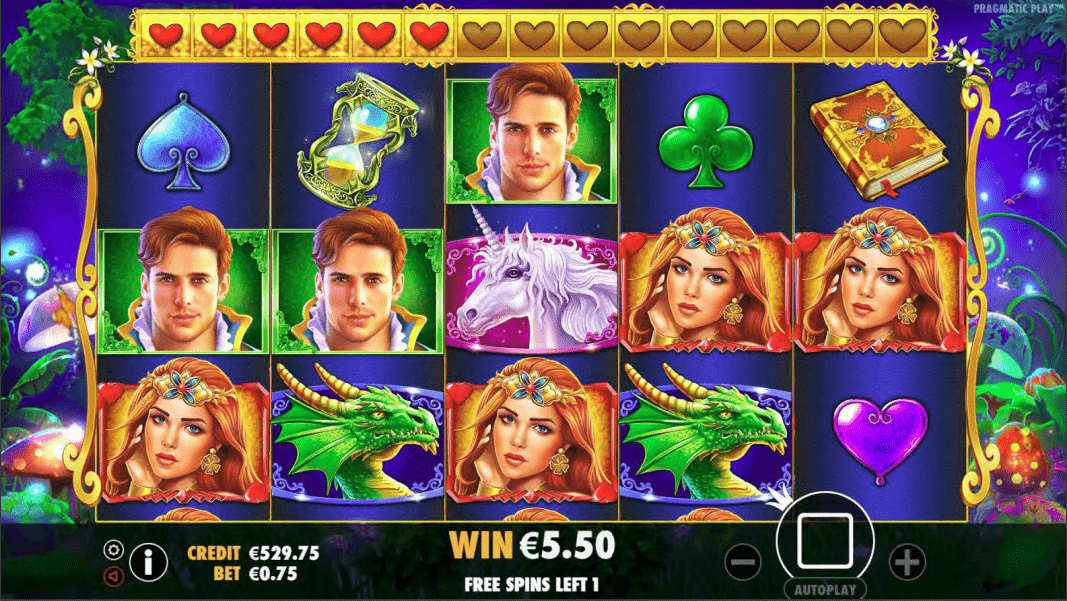 Fairytale Fortune Video Slot Progressive Free Spins