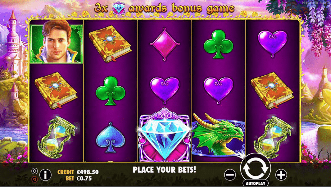 Fairytale Fortune Video Slot Base Game