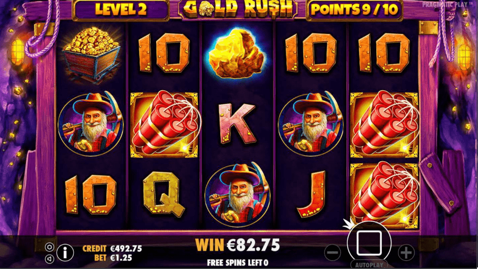 Gold Rush Slot Game Golden Nugget