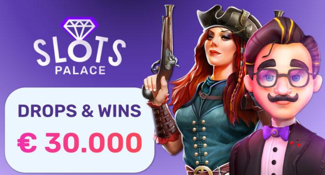 SlotsPalace Online Casino Drops&Wins Tournament