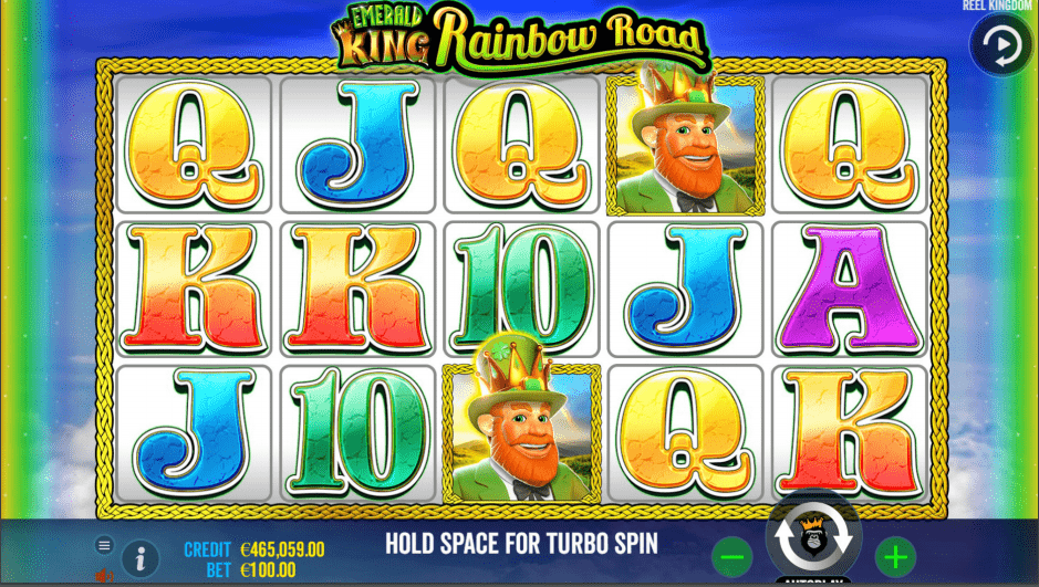 Emerald King Rainbow Road Slot Machine Base Game