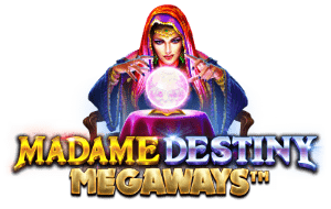 Madame Destiny Megaways Slot Tournaments Pragmatic Play Logo