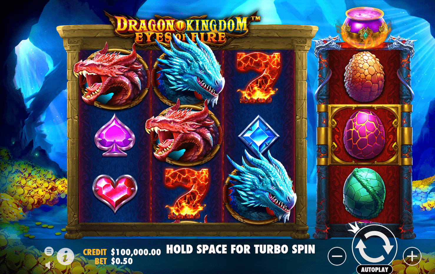 Dragon Kingdom Eyes Of Fire Video Slot Dragons