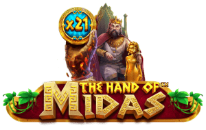 The Hand of Midas Slot Tournaments Pragmatic Play Logo