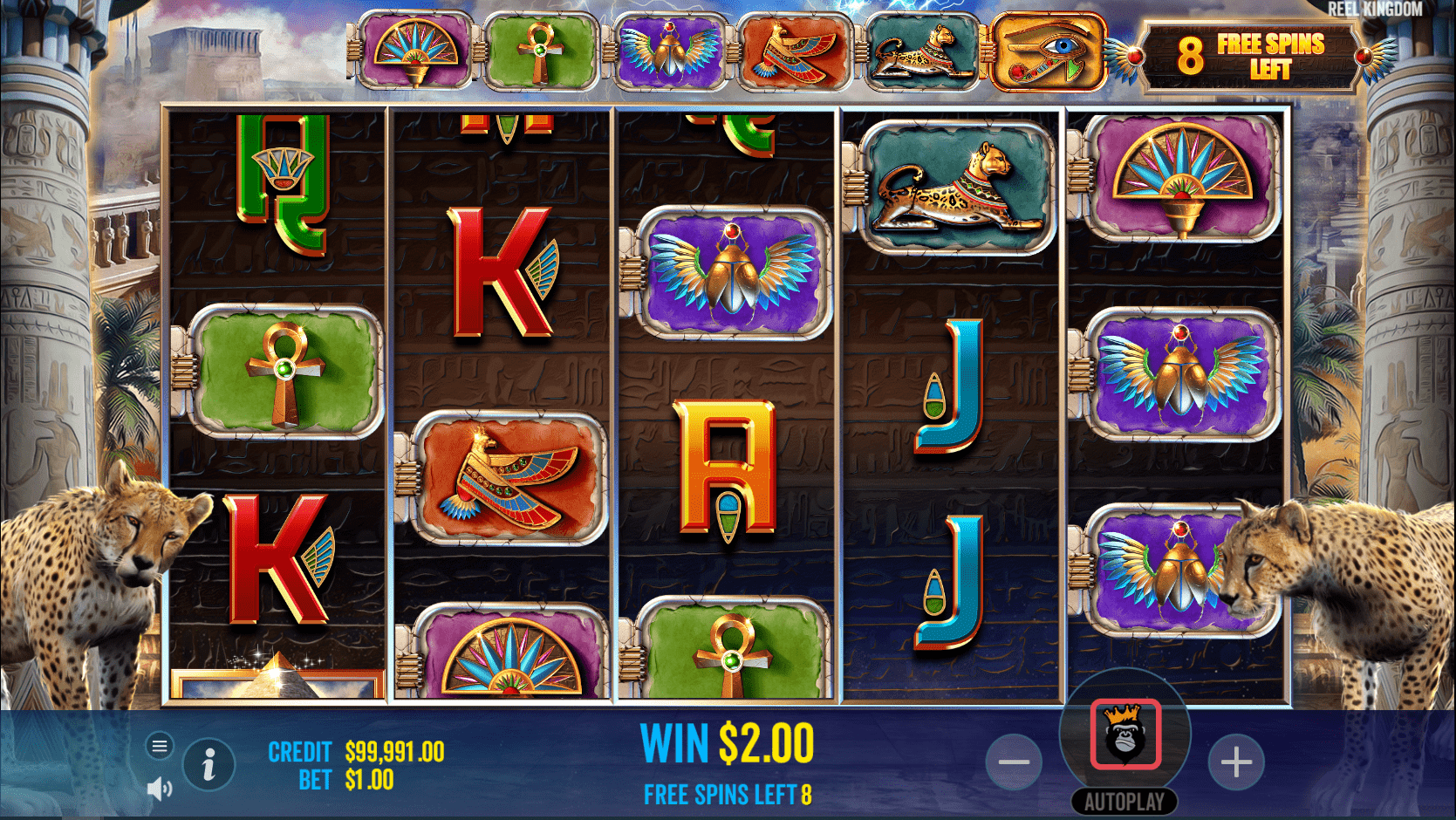 Eye of the Storm Slot Game Free Spins