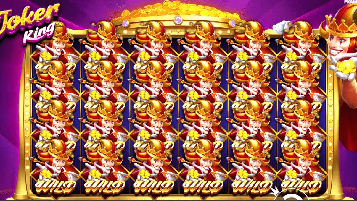 Joker King Slot Machine Full Screen Wilds