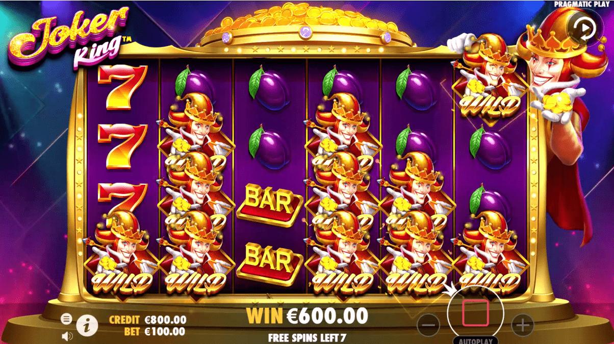 Joker King Slot Game Free Spins