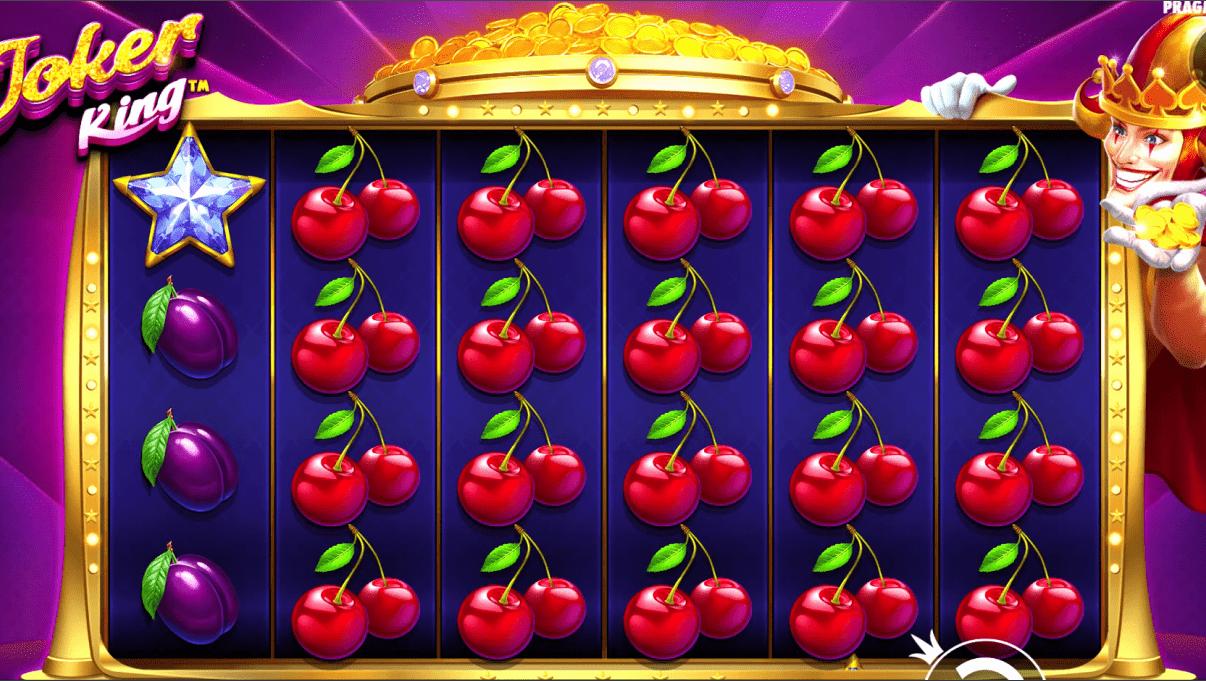 Joker King Slot Machine Base Game