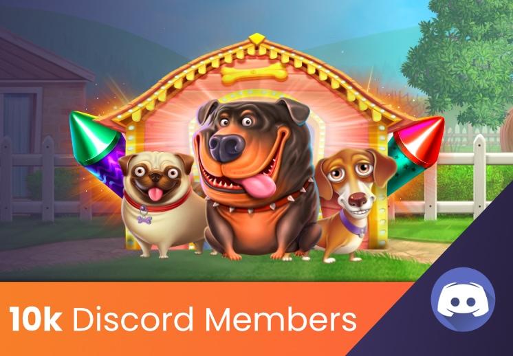 Discord Server hitting 10,000 members - 2 Million Coin Tournament!