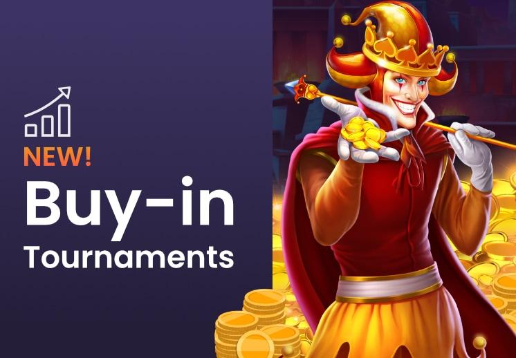 Progressive Buy-In Tournaments has arrived!